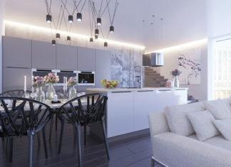 Salon z otwartą kuchnią – jak najlepiej zaaranżować przestrzeń?