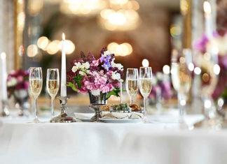 Organizując przyjęcie weselne